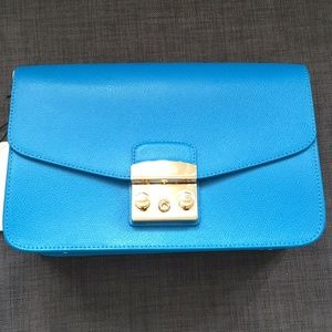 Furla shoulder bag Blue color